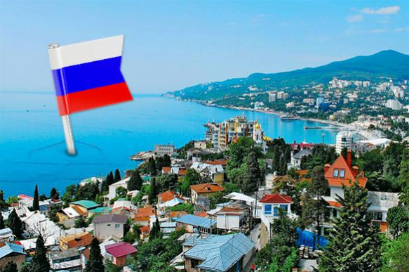 World tends to think of Crimea as Russia