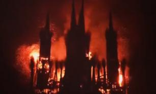 Artist who burnt Catholic church model in Russia puzzled by public reaction