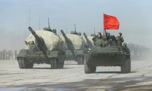 Russia uses state-of-the-art BTR-82A armored vehicles in Tajikistan