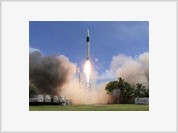 US private space company launches its first satellite into space