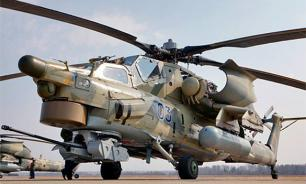 Russia's Night Hunter helicopter crashes in Syria, 2 pilots killed