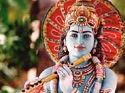 Krishna followers in Moscow