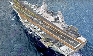 Russia develops new prospective aircraft carrier