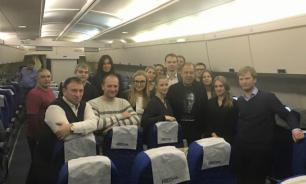 Russian Foreign Minister Sergei Lavrov throws B-day party in midair