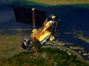Portions of 5.6 ton satellite fall to Earth