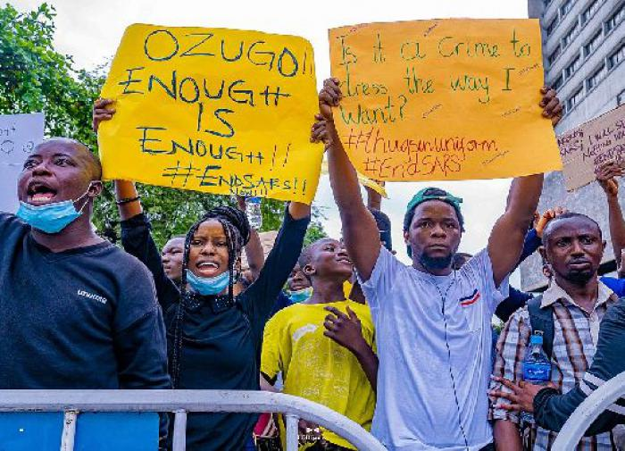 Nigerians want an end to police brutality and gross human rights violations