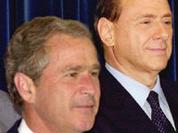 Italy's Berlusconi takes sudden anti-American turn