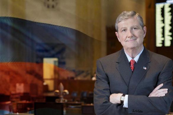 John Kennedy slams Russian administration, Kremlin shrugs shoulders