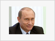Lucky amulet brings Putin wild success