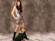 Russian top model brutally stabs mongrel dog in Moscow