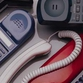 Cellular phones progress from large brick-like objects to tiny stylish devices