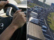 Moscow traffic jams hardest to survive