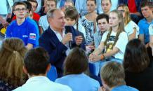 Putin s Q&A with kids: Live normal life, respect other people, admire Tchaikovsky