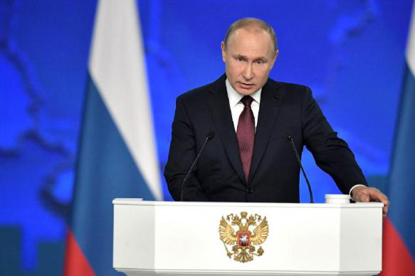 What is going to happen to Russia after Putin's landmark 2020 speech?