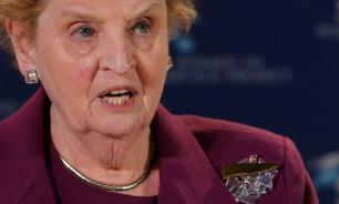 Madeleine Albright outraged about Putin's smart moves