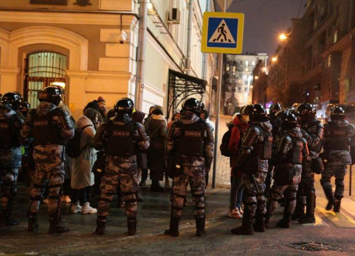 Navaly verdict protests end with over 1,400 detained