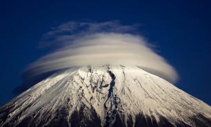 Frozen extraterrestrial found on Mount Adams
