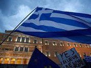 Greece votes OXI which means NO