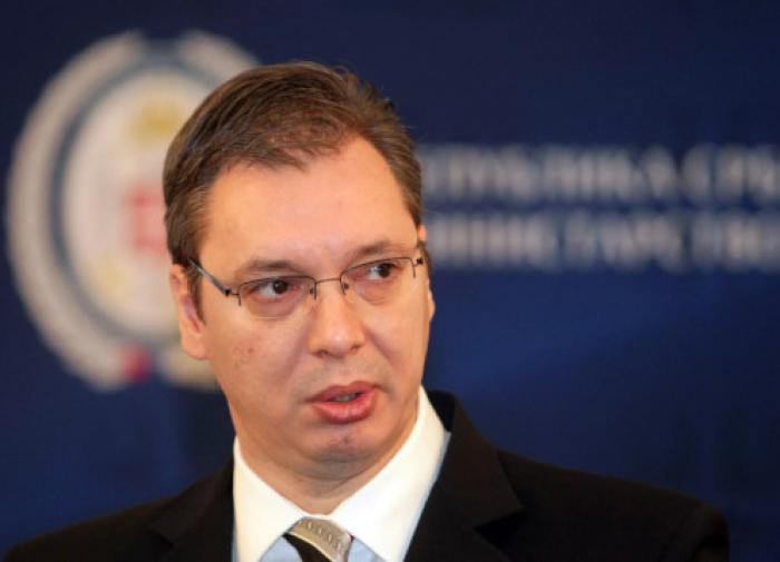 Pro-Russian Serbian President Aleksandar Vucic is suing himself