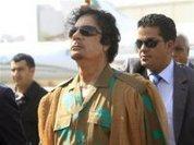 Gaddafi's son says Libya is not afraid of UN resolution