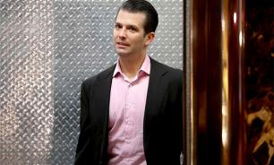 Trump's son meets with pro-Russian forces in Paris