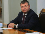 Russian national rage goes down on former Defense Minister Serdyukov