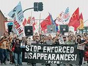 Adoption of the Convention on Forced Disappearance is essential to ensu
