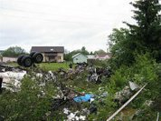 Passengers of Tu-134 were burning alive - eyewitnesses