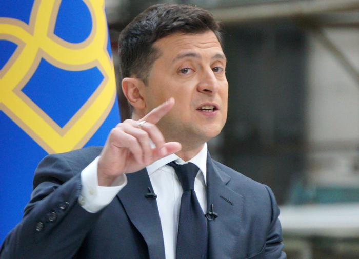 Ukraine's Zelensky does not exclude large-scale war with Russia