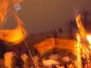 Ukraine celebrates orange anniversary and economic debacle