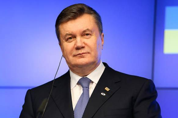 Yanukovych accused sitting Ukrainian government of starting war