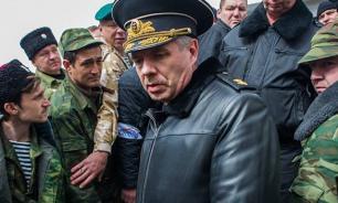 """Ukraine """"arrests"""" Russian Black Sea Fleet Commander by correspondence"""
