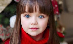Child model from Russia ranked most beautiful girl in the world