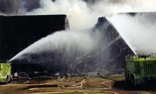 FBI shows photos of Pentagon after 9/11 attack