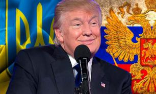 Trump employs advisers from Russia and Ukraine. That is terrible