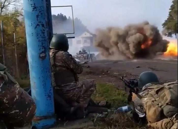 Russian peacekeeper injured in mine explosion in Nagorno-Karabakh
