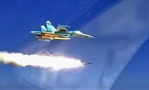 Russia's X-31 supersonic missile destroys target ship in Caspian Sea. Video