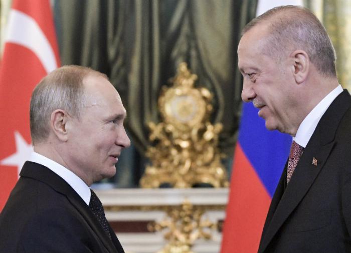 Erdogan to Putin: Only a good friend comes on a dark day