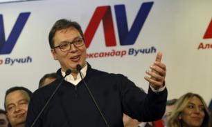 Serbia's newly elected president thanks Putin