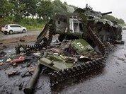 Ukrainian troops bomb towns full of civilians