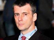 Mikhail Prokhorov's Napoleonic plans