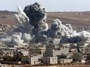 Russia accuses US of bombing Aleppo