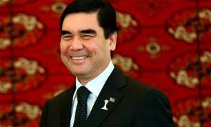 President of Turkmenistan channels Arnold Schwarzenegger in military drills