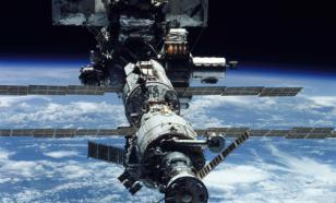 Russian film crew flies to International Space Station