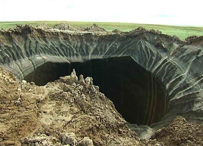 Russian scientists unravel the mystery of Yamal sinkhole