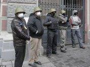 Ukraine: Anti-Fascist freedom fighters take the initiative