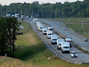 Russia runs out of patience, sends aid convoy to Ukraine