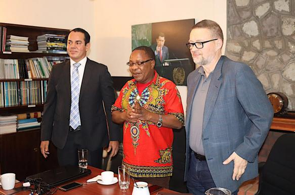African revolutionary intellectuals inspired by Latin America and China