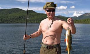 Putin's torso drives the West crazy