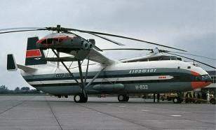 USSR's B-12 jumbo helicopter stunned Le Bourget in 1971
